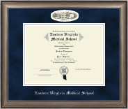 Eastern Virginia Medical School Diploma Frame - Campus Cameo Diploma Frame in Easton