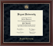 Bryant University Diploma Frame - Regal Edition Diploma Frame in Chateau