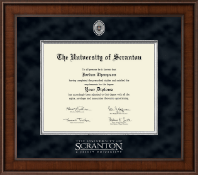 The University of Scranton Diploma Frame - Presidential Masterpiece Diploma Frame in Madison