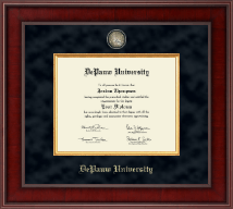 DePauw University Diploma Frame - Presidential Masterpiece Diploma Frame in Jefferson