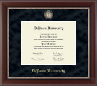 DePauw University Diploma Frame - Regal Edition Diploma Frame in Chateau