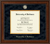 University of Baltimore Diploma Frame - Presidential Masterpiece Diploma Frame in Madison