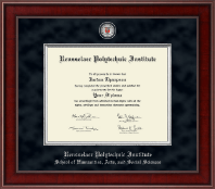 Rensselaer Polytechnic Institute Diploma Frame - Presidential Masterpiece Diploma Frame in Jefferson