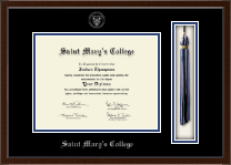 Saint Mary's College Diploma Frame - Tassel Edition Diploma Frame in Delta