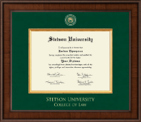 Stetson University Diploma Frame - Presidential Masterpiece Diploma Frame in Madison