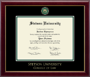 Stetson University Diploma Frame - Masterpiece Medallion Diploma Frame in Gallery