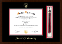 Seattle University Diploma Frame - Tassel Edition Diploma Frame in Omega