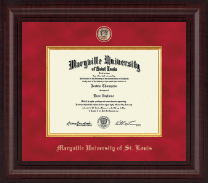 Maryville University of St. Louis Diploma Frame - Presidential Masterpiece Diploma Frame in Premier