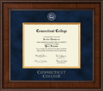 Connecticut College Diploma Frame - Presidential Masterpiece Diploma Frame in Madison