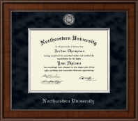 Northeastern University Diploma Frame - Presidential Masterpiece Diploma Frame in Madison