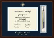 Connecticut College Diploma Frame - Tassel Edition Diploma Frame in Delta