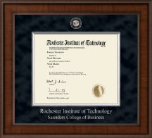 Rochester Institute of Technology Diploma Frame - Presidential Masterpiece Diploma Frame in Madison