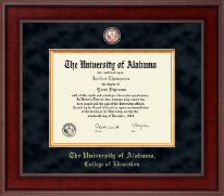 The University of Alabama Tuscaloosa Diploma Frame - Presidential Masterpiece Diploma Frame in Jefferson