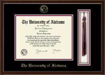 The University of Alabama Tuscaloosa Diploma Frame - Tassel Edition Diploma Frame in Delta