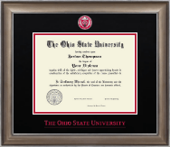 The Ohio State University Diploma Frame - Dimensions Diploma Frame in Easton