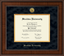 Stockton University Diploma Frame - Presidential Gold Engraved Diploma Frame in Madison