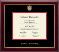 Caldwell University Diploma Frame - Masterpiece Medallion Diploma Frame in Gallery