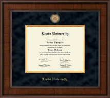 Lewis University Diploma Frame - Presidential Masterpiece Diploma Frame in Madison