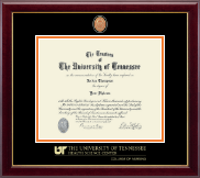 The University of Tennessee Health Science Center Memphis Diploma Frame - Masterpiece Medallion Diploma Frame in Gallery