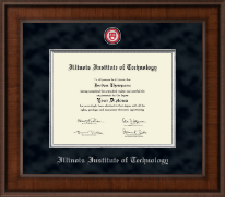 Illinois Institute of Technology Diploma Frame - Presidential Masterpiece Diploma Frame in Madison