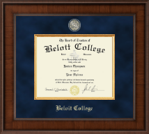 Beloit College Diploma Frame - Presidential Masterpiece Diploma Frame in Madison
