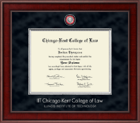 Chicago-Kent College of Law Diploma Frame - Presidential Masterpiece Diploma Frame in Jefferson