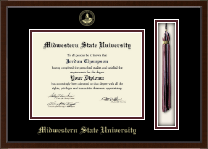Midwestern State University Diploma Frame - Tassel Edition Diploma Frame in Delta