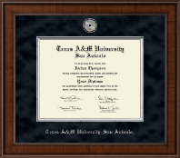 Texas A&M University at San Antonio Diploma Frame - Presidential Masterpiece Diploma Frame in Madison