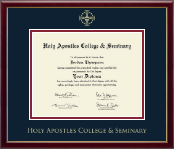 Holy Apostles College & Seminary Diploma Frame - Gold Embossed Diploma Frame in Galleria