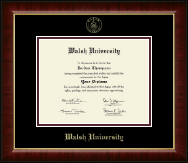 Walsh University Diploma Frame - Gold Embossed Diploma Frame in Murano
