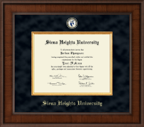 Siena Heights University Diploma Frame - Presidential Masterpiece Diploma Frame in Madison