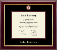 Walsh University Diploma Frame - Masterpiece Medallion Diploma Frame in Gallery