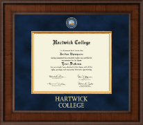 Hartwick College Diploma Frame - Presidential Masterpiece Diploma Frame in Madison