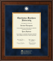 Charleston Southern University Diploma Frame - Presidential Masterpiece Diploma Frame in Madison