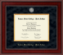 Lamar State College - Port Arthur Diploma Frame - Presidential Masterpiece Diploma Frame in Jefferson