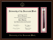 University of the Incarnate Word Diploma Frame - Tassel Edition Diploma Frame in Delta