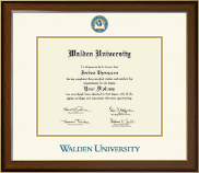 Walden University Diploma Frame - Dimensions Diploma Frame in Westwood