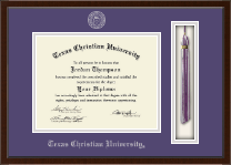Texas Christian University Diploma Frame - Tassel Edition Diploma Frame in Delta