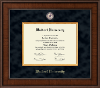 Waldorf University Diploma Frame - Presidential Masterpiece Diploma Frame in Madison