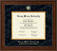 George Mason University Antonin Scalia Law School Diploma Frame - Presidential Masterpiece Diploma Frame in Madison