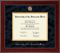 University of the Incarnate Word Diploma Frame - Presidential Masterpiece Diploma Frame in Jefferson