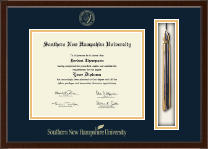 Southern New Hampshire University Diploma Frame - Tassel Edition Diploma Frame in Delta