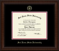 Sul Ross State University Diploma Frame - Gold Embossed Diploma Frame in Lenox