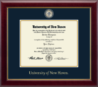 University of New Haven Diploma Frame - Masterpiece Medallion Diploma Frame in Gallery