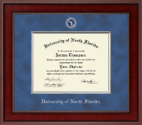 University of North Florida Diploma Frame - Presidential Masterpiece Diploma Frame in Jefferson