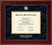 Montclair State University Diploma Frame - Presidential Masterpiece Diploma Frame in Jefferson