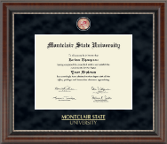 Montclair State University Diploma Frame - Regal Edition Diploma Frame in Chateau
