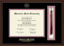 Montclair State University Diploma Frame - Tassel Edition Diploma Frame in Delta