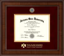 Arizona State University Diploma Frame - Presidential Masterpiece Diploma Frame in Madison