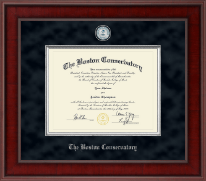 The Boston Conservatory at Berklee Diploma Frame - Presidential Masterpiece Diploma Frame in Jefferson